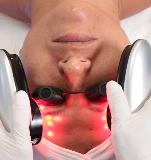Red LED HydraFacial